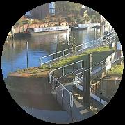 River Avon at Tewksbury