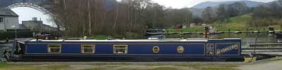 Narrowboat Bendigedig