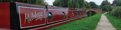 Narrowboat Muleless