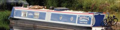 Narrowboat Sayella