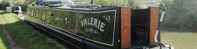 Narrowboat Valerie