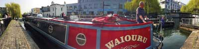 Narrowboat Waiouru