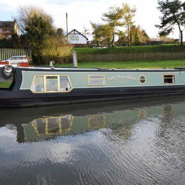 "Narrowboat ""Sally Slapcabbage"""