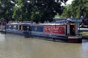 Narrowboat Elly J