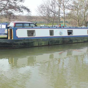 The Black Pig, 50ft. Cruiser Stern Narrowboat