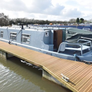 Serenity – 42ft. Cruiser Stern Narrowboat For Sale
