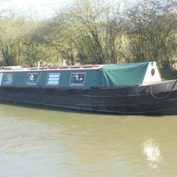 Knot So Fast – 40ft. Cruiser Stern Narrowboat For Sale