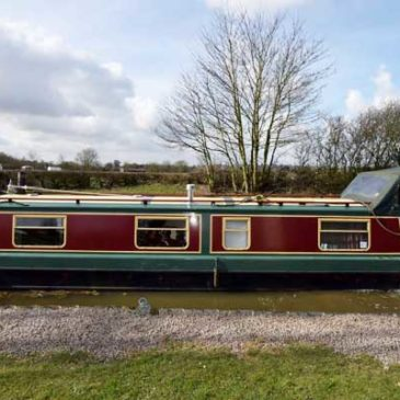 Out of the Blue – 40ft. Cruiser Stern Narrowboat (1991) – For Sale