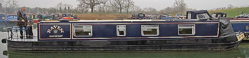 Raven – A 45ft. Cruiser Stern Narrowboat – For Sale