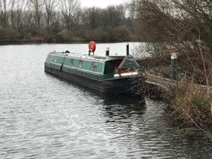 Narrowboat Intrepid